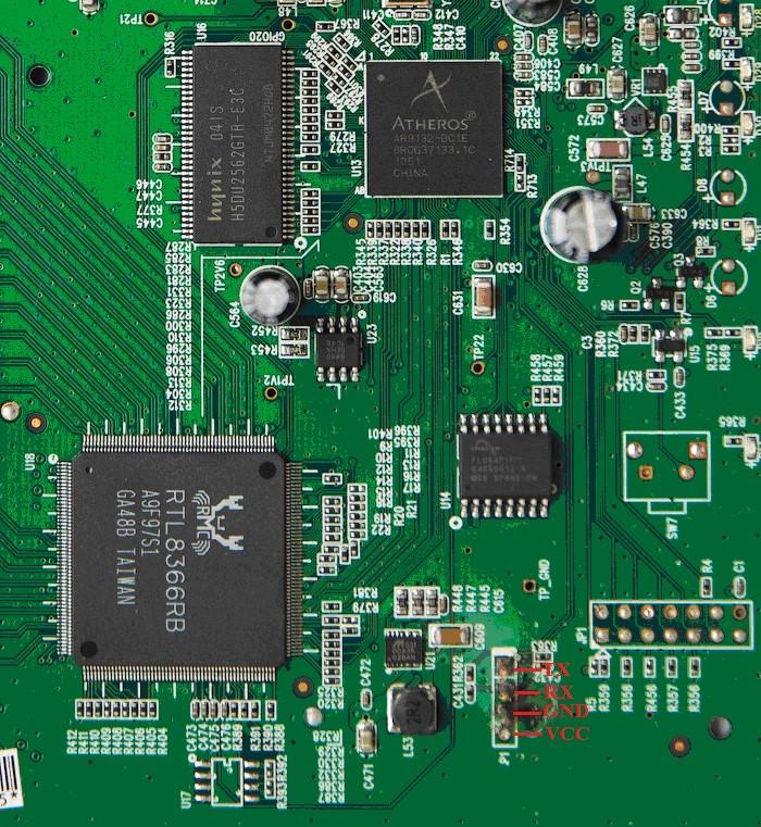 Serial-интерфейс на роутере TP-Link TL-WR1043ND