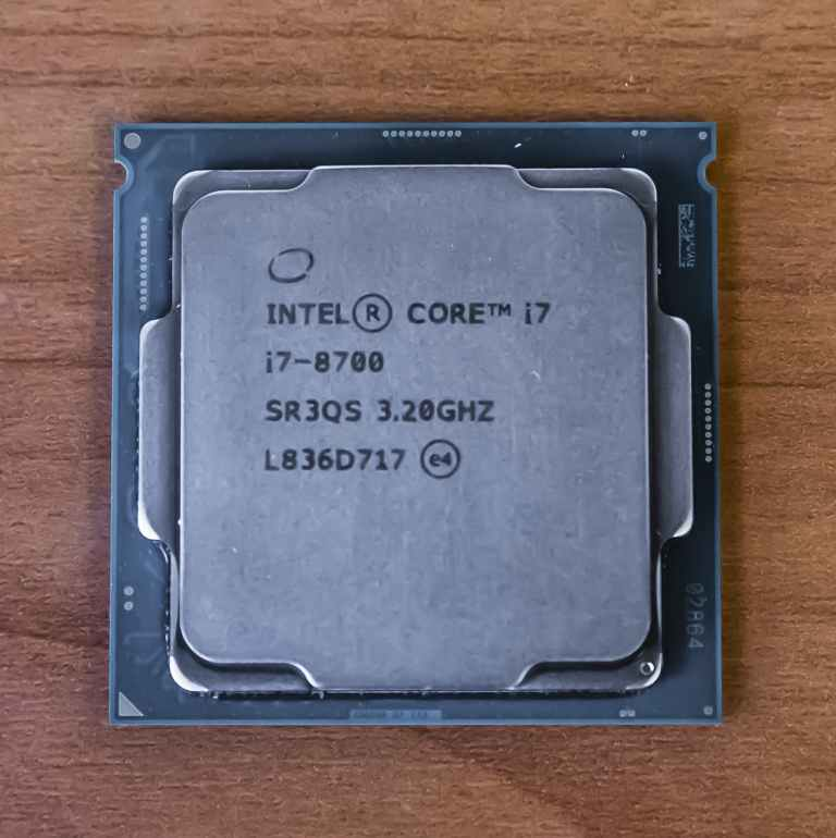 Intel Core i7-8700 Coffee Lake